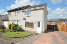 semi detached house for sale in Nevis Crescent, Alloa