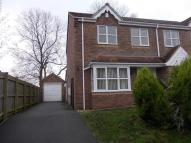 semi detached home to rent in Ashby Meadows, Spilsby...