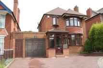 Detached house in Birmingham New Road...