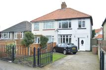 semi detached property for sale in 22 Rolston Road, HORNSEA...