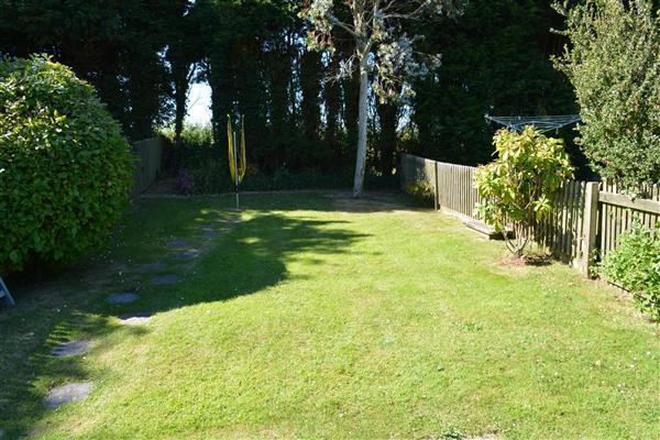 Lawned Garden Area