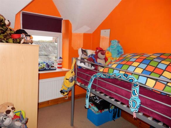 Rear Bedroom on the