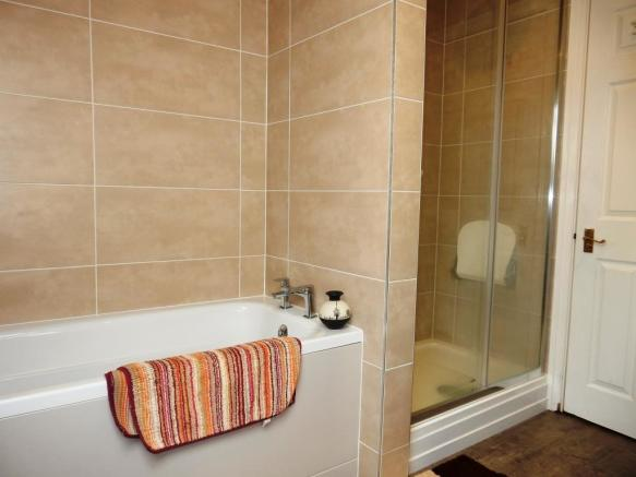 Newly fitted bathroo