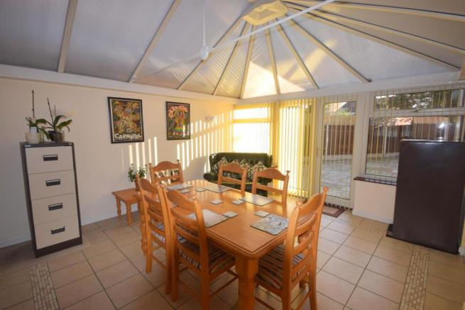 Conservatory / Dining/ Family Room