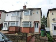semi detached house in Coles Lane...
