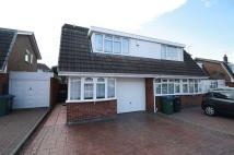 Comberford Drive semi detached property to rent