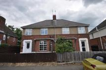 semi detached house in Kingston Crescent...