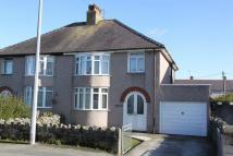 semi detached property for sale in Cyttir Road, Holyhead