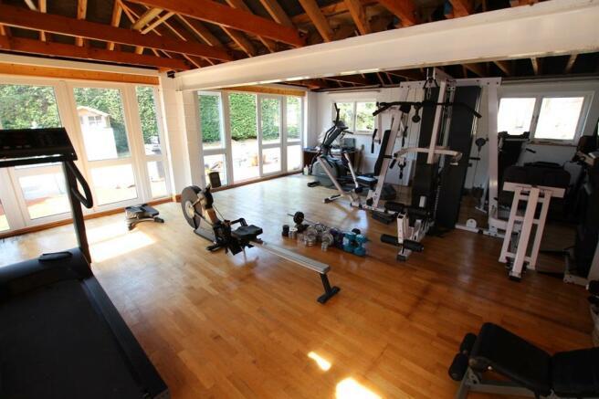 Office/gymnasium