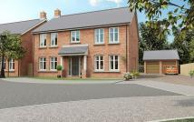 new home for sale in Harolds Lane, Enderby...