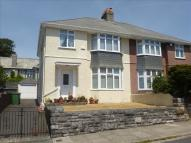 3 bedroom semi detached home in Vapron Road, Plymouth