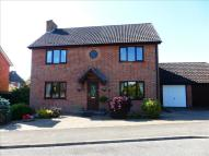 Detached house in Long Pastures, Glemsford...
