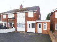 semi detached property in Arkwright Road, Irchester