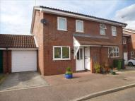 semi detached home for sale in Melton Close, Wymondham