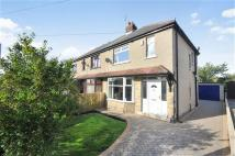Hill Crescent semi detached house for sale