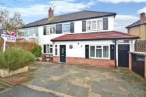 semi detached property for sale in Broxbourne Avenue...