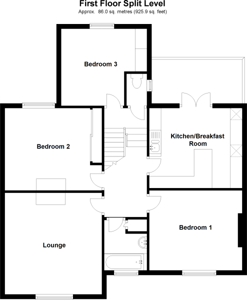First Floor Split Level
