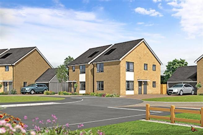 3 bedroom detached house for sale in light development ashford kent tn23