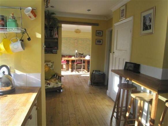 Kitchen Through To Dining