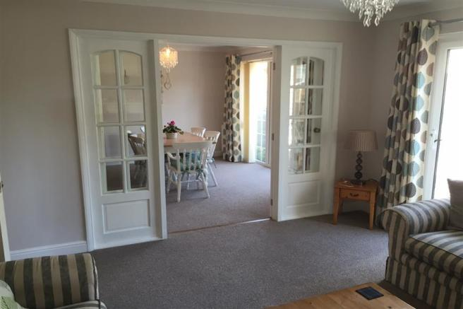 Lounge Through To Dining Area