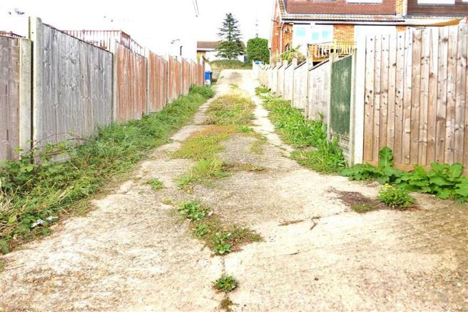 Access Road To Rear Garage