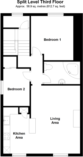 Split Level Third Floor