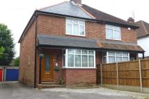 2 bedroom semi detached home in Frimley Road, Camberley...