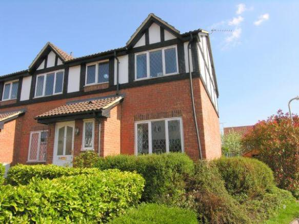 3 bedroom semi detached house for sale in a modern mock for Tudor style house for sale