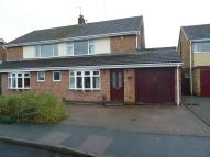 semi detached home for sale in Ferneley Crescent...
