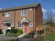 Terraced house in Hectors Way, Oakham