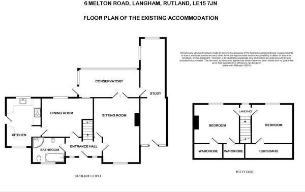 FLOOR PLAN-existing