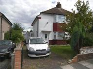 semi detached property in Elm Road, Slade Green...