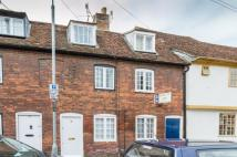 2 bed Terraced house in SALISBURY, Trinity Street