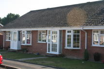LITTLE DENE COPSE Terraced Bungalow to rent