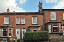 Terraced home in Sydney Street, Northwich