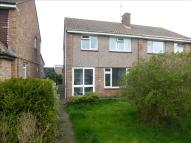 3 bedroom semi detached home in Chalcombe Close...