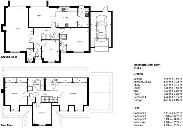 plot 2 floor plan la