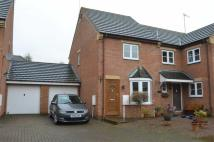semi detached home to rent in Hunt Close, Towcester