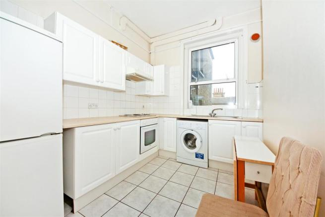 Kitchen in one of the apartments