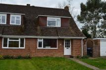 2 bed semi detached house in Poveys Close...
