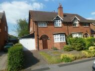 Laburnum Road semi detached house to rent