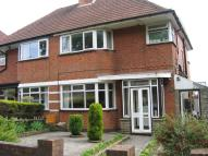 3 bed semi detached house in Quinton Lane, Harborne...