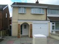 3 bed semi detached home in Lathom Drive