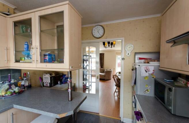 Kitchen looking i...