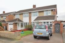 3 bedroom semi detached property for sale in Chadderton Drive...