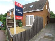 1 bedroom semi detached house to rent in St George's Way...