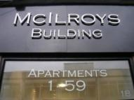 Studio apartment to rent in McIlroys Building...
