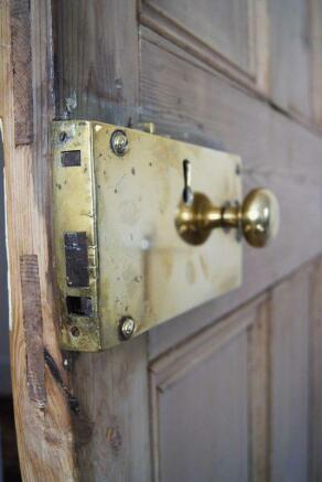 Door lock feature