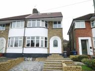 semi detached property in Whitehouse Way, London