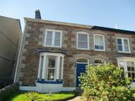 semi detached house in Albany Road, Redruth